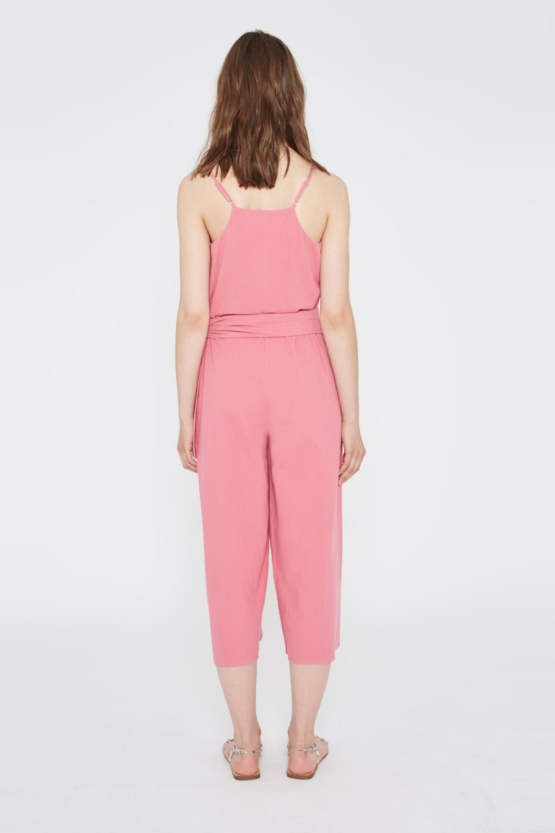 Pink Laced Jumpsuit Wild Pony