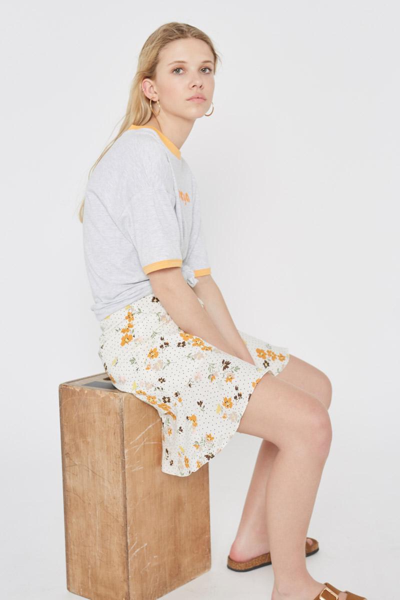 Liberty Print Wrap Skirt Wild Pony