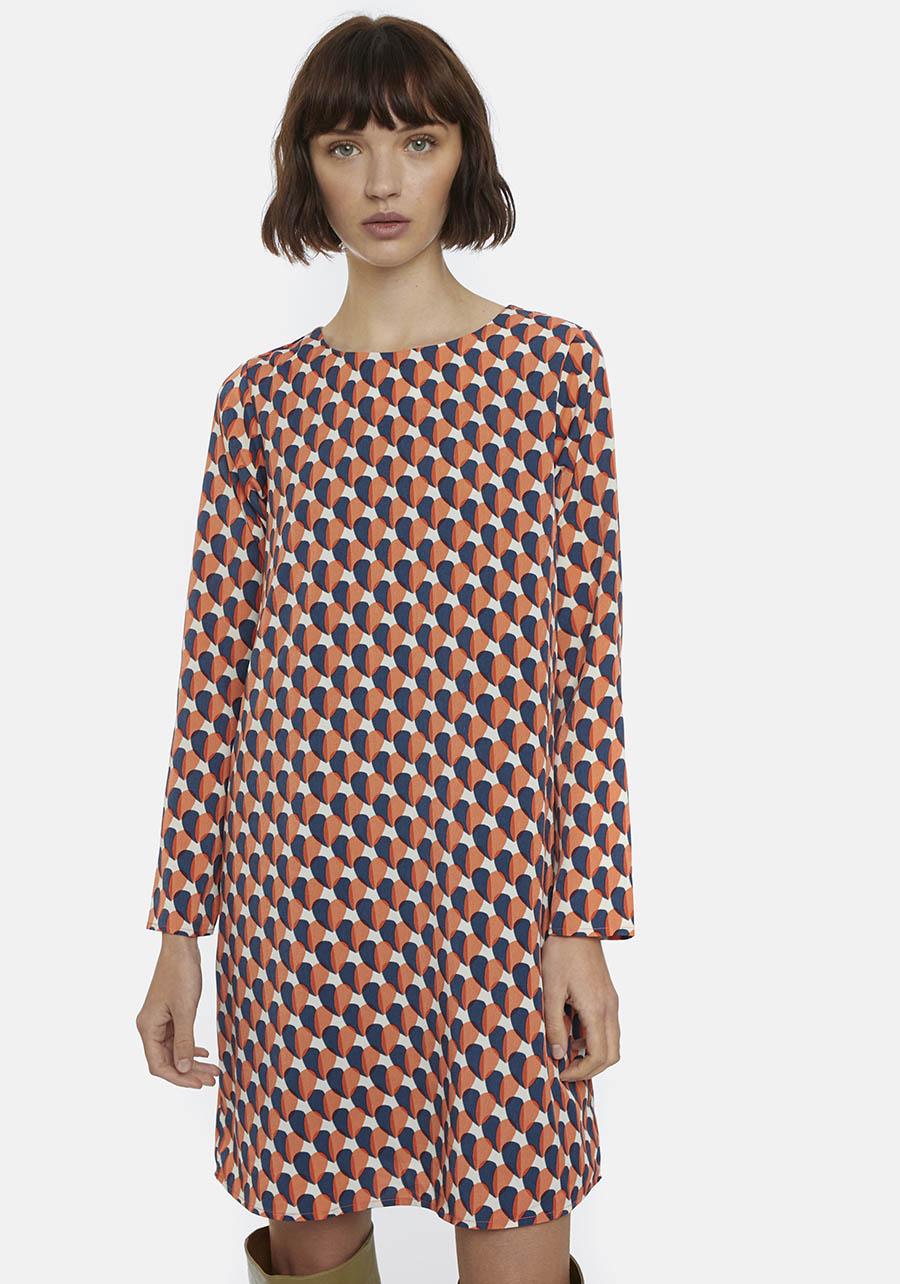 Multi-Coloured Babydoll Dress Compania Fantastica