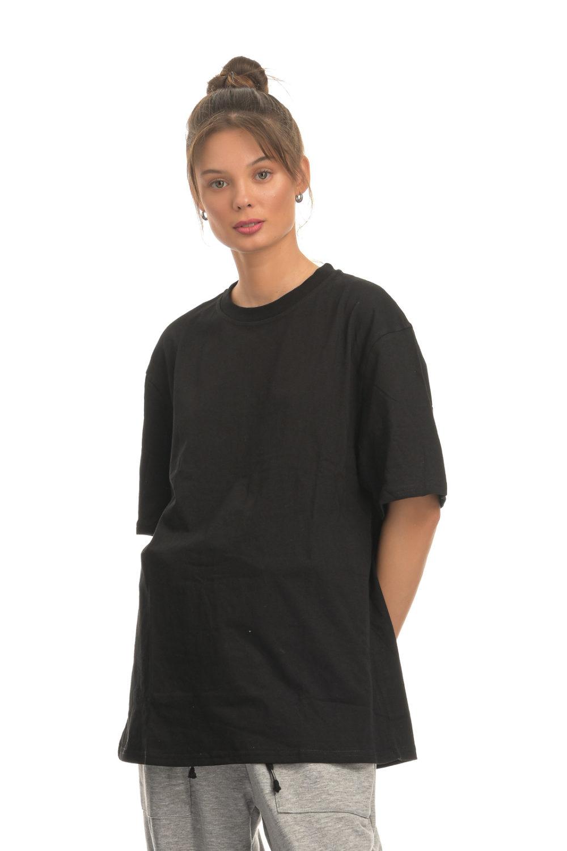 Athletic Loose Black T-shirt