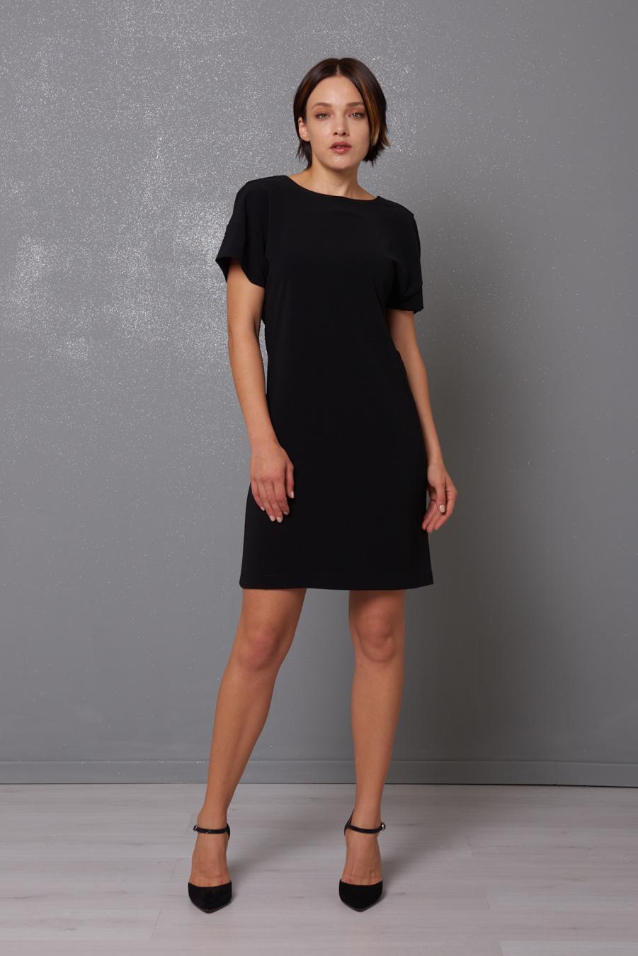 Backless Black Dress Kikisix