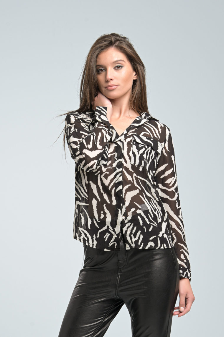 Black Animal Shirt