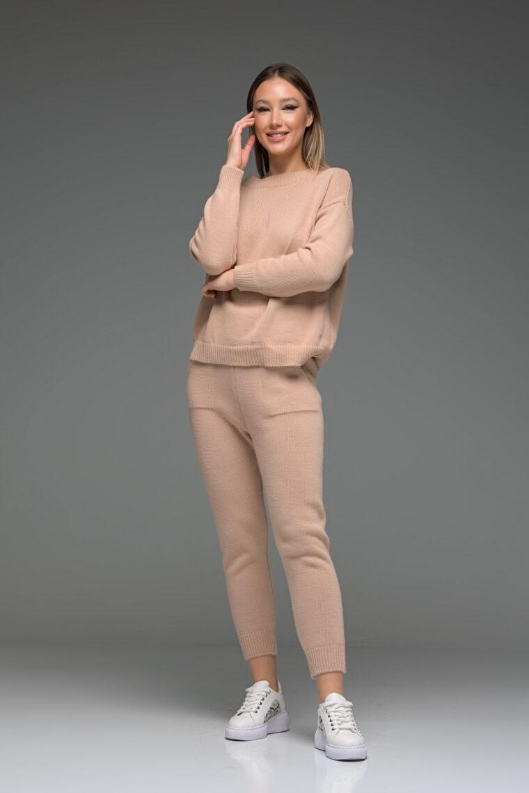 Light Pink Knit Set