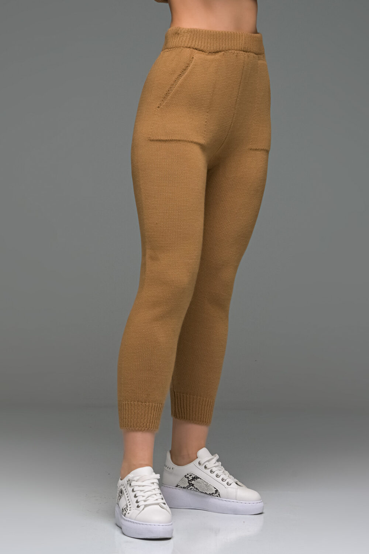 Brown Knit Set