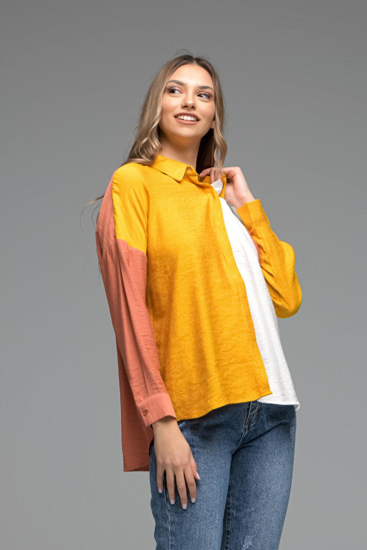 Multicoloured Oversized Shirt
