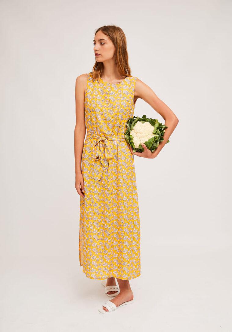 Μακρύ Φόρεμα Με Print Κοχύλια Compania Fantastica
