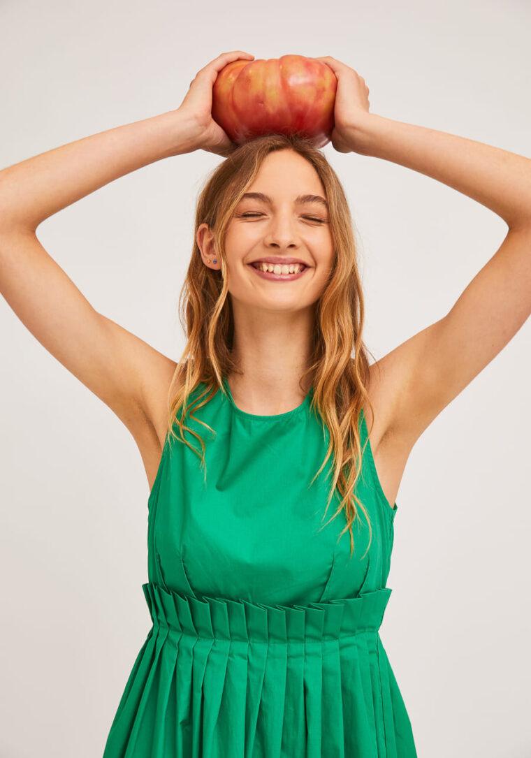 Πράσινο Midi Φόρεμα Compania Fantastica