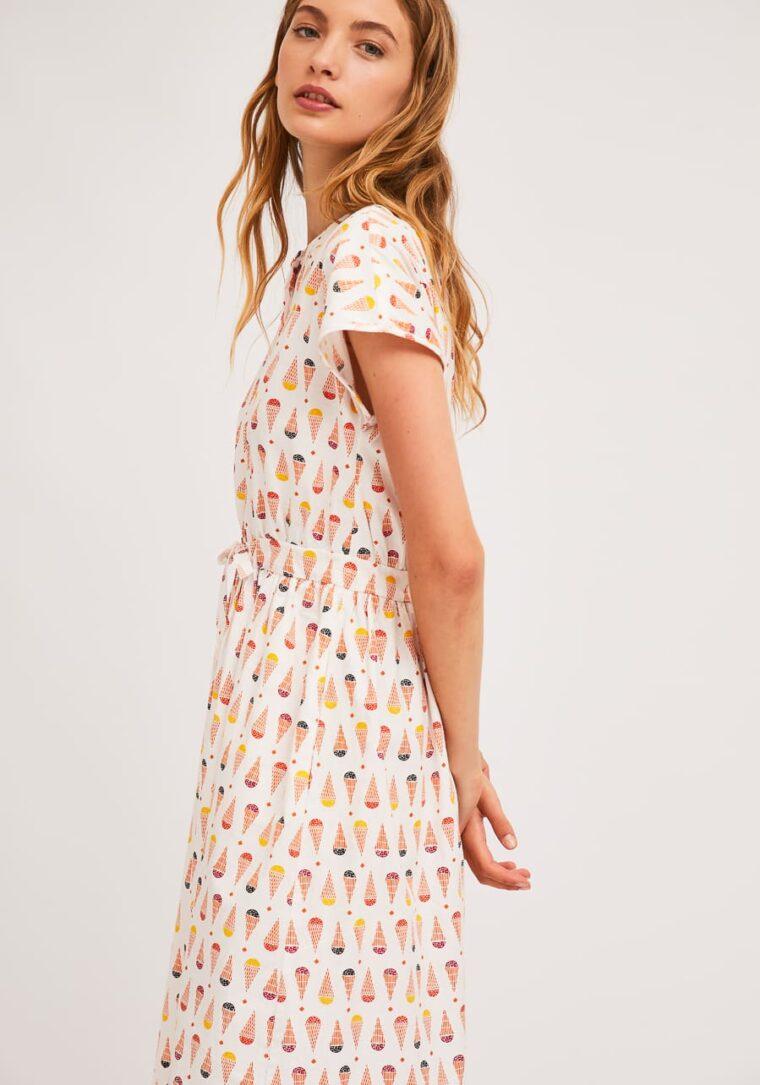 Πουκάμισο Φόρεμα Με Print Παγωτά Compania Fantastica