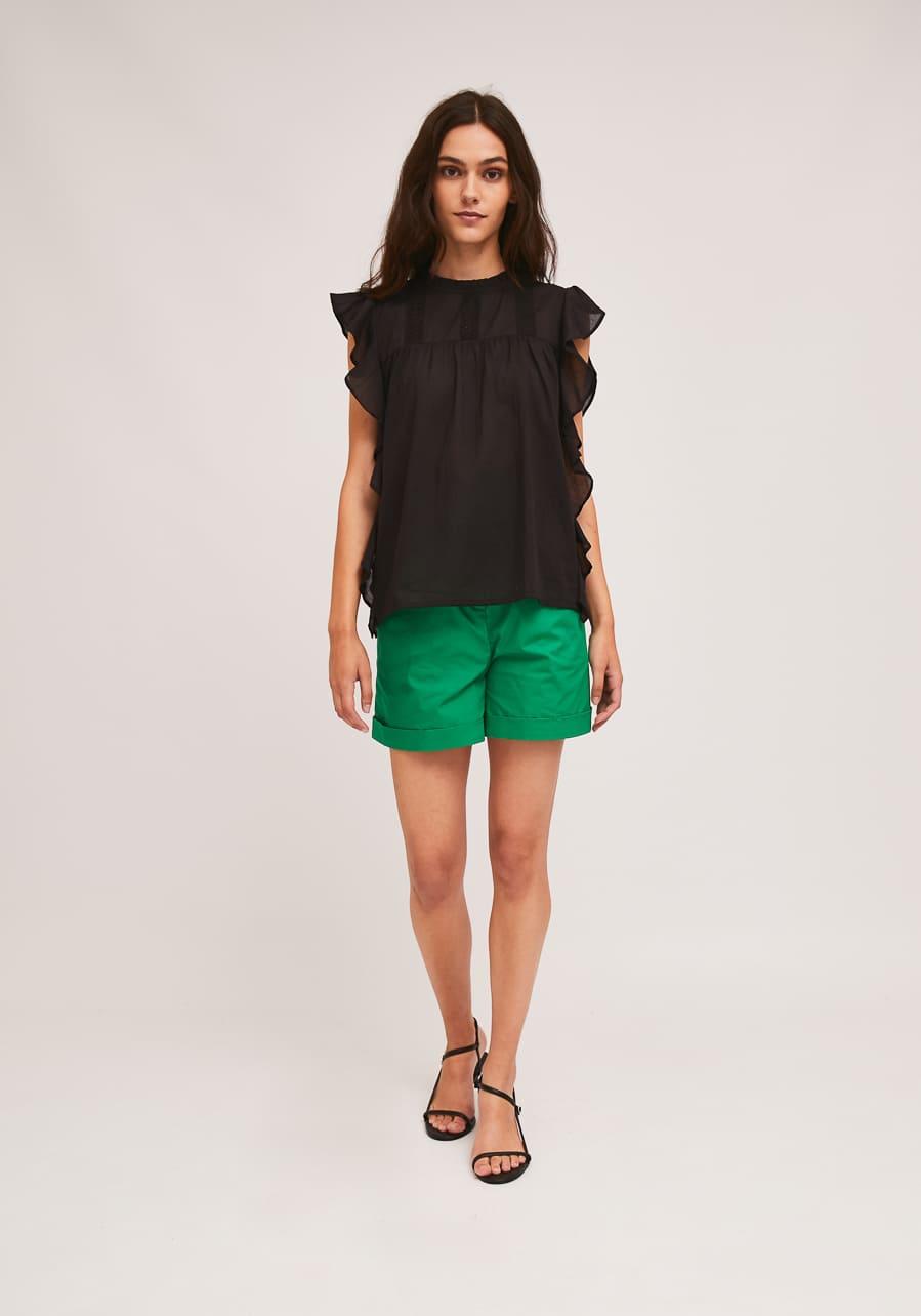 Μαύρη Βαμβακερή Μπλούζα Compania Fantastica