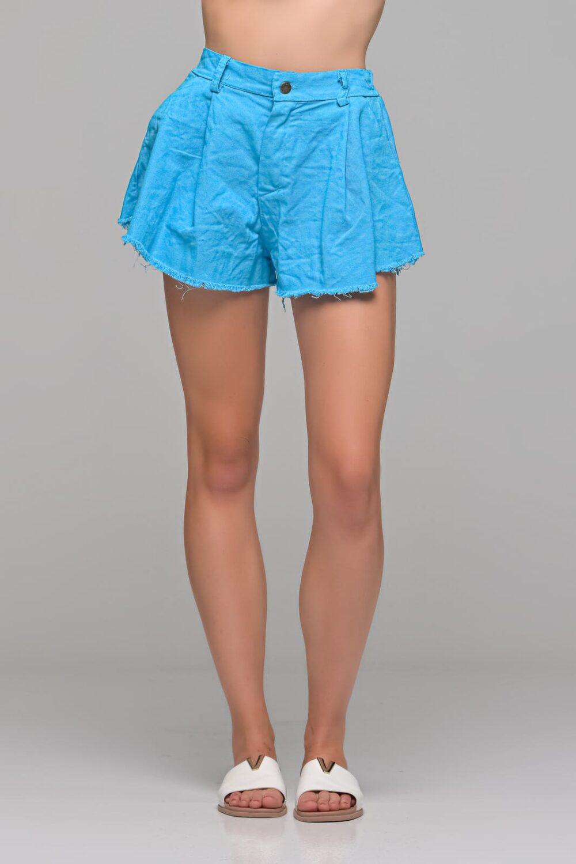 Μπλε Ρουά Jean Shorts