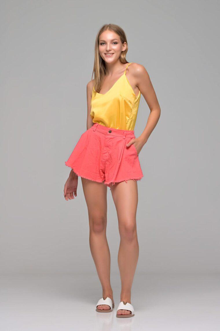 Κοραλλί Jean Shorts